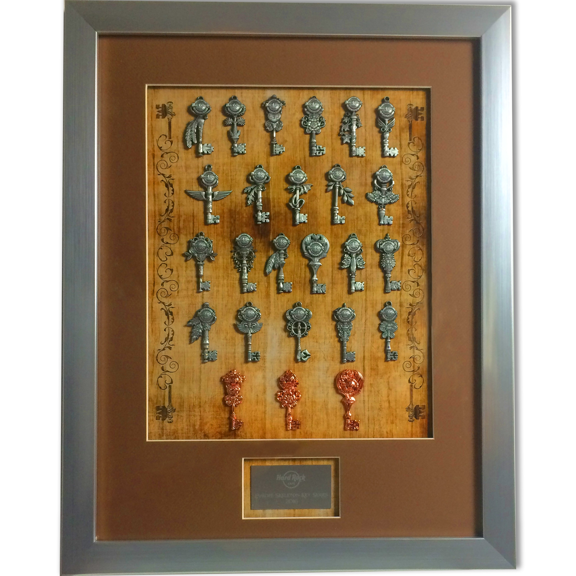 Regional Europe Skeleton Key Frame Set 16 0