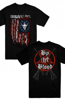By The Blood Flag Tee (Black)