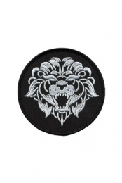 Circle Lion Patch