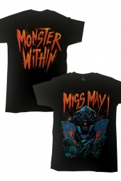 Monsters Within Tee (Black)