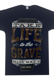 Life To The Grave (Tee) Navy