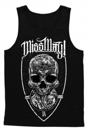 Dead On Time Tank Top (Black)