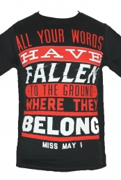 All Your Words Tee (Black)