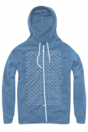 Logo Repeat Hoodie (True Royal)