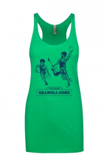 Granola Jones Girls Racerback Tank (Envy)