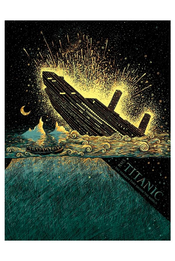 RMS Titanic Art Print  0