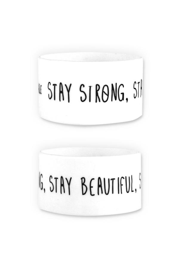 Stay Strong Wristband
