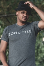 Text Tee (Heather Charcoal)