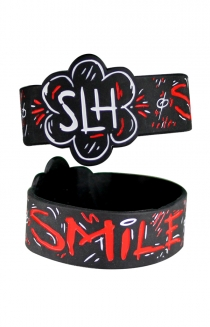 Smile! (I'm Not Okay) Wristband