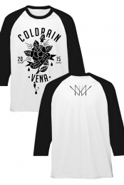 Flower Raglan 2015 (White/Black)