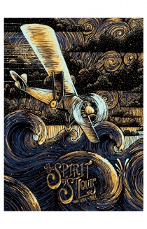 The Spirit of St. Louis Art Print