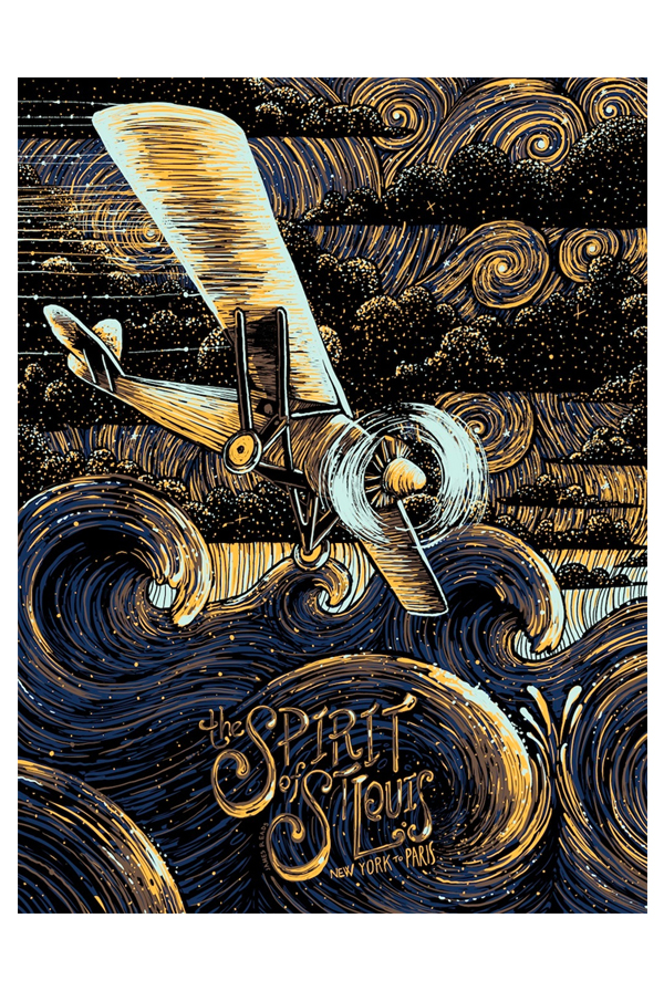 The Spirit of St. Louis Art Print 0