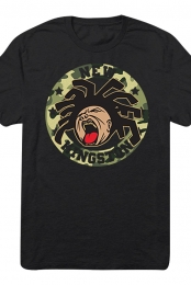 Madd Face Tee (Black/Camo)