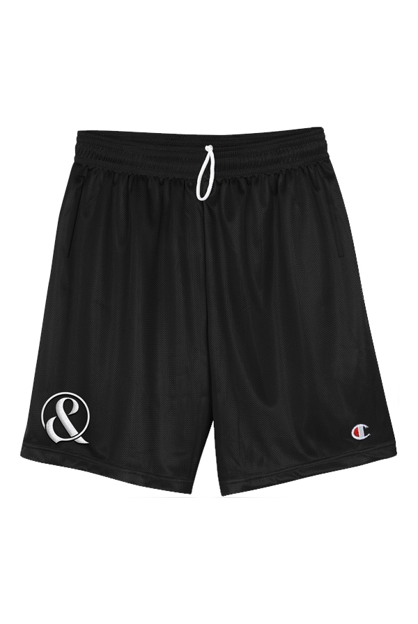 Embroidered Ampersand Shorts