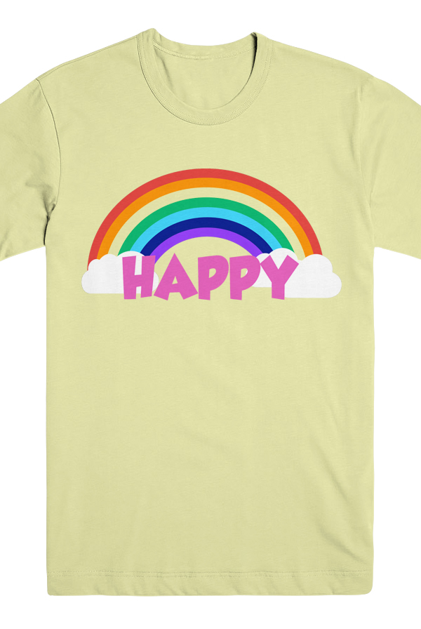HAPPY Tee (Lemon) 0