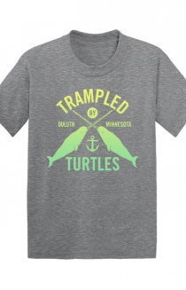 Narwhale Toddler Tee (Athletic Grey)