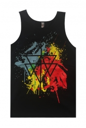 Paint Balled Tank (Black)
