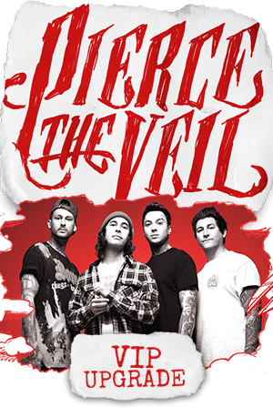 Ticketspin pierce the veil eu tickets vip upgrade 05112016 vip upgrade 05112016 milan italy magazzini generali m4hsunfo