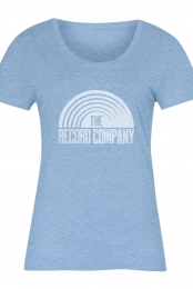 Sun Logo Women's Tee (Heather Athletic Blue)
