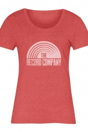 Sun Logo Women's Tee (Heather Red)