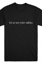 Not Tyler Oakley (Black)