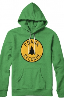 PDANK Records Hoodie (Kelly Green)