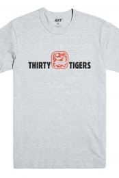 Thirty Tigers Tee (Athletic Heather)