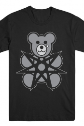 Sharp The Bear Black Tee