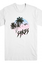 Tropical Sunset Tee (White)