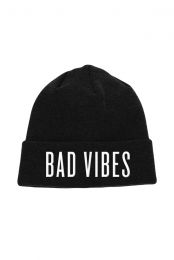 Bad Vibes Beanie (Black)