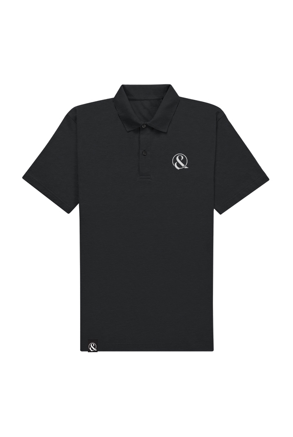 Ampersand Polo (Black)