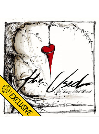 The Used - In Love and Death (Smartpunk Exclusive White with Red Splatter Vinyl /500)