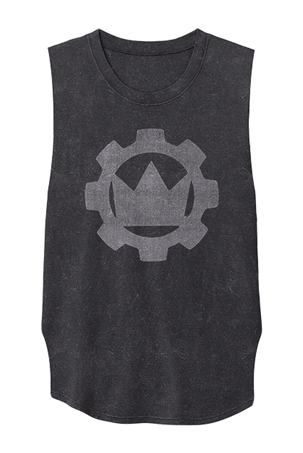 Mineral Wash Sleeveless Tee