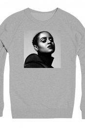 Portrait Crewneck (Heather Grey)