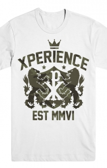 XP Camo Crest T-Shirt (White)
