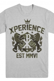 XP Camo Crest T-Shirt (Heather Grey)