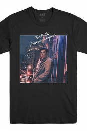 American English Full Cover Tee (Black)