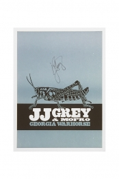 SIGNED Georgia Warhorse Poster