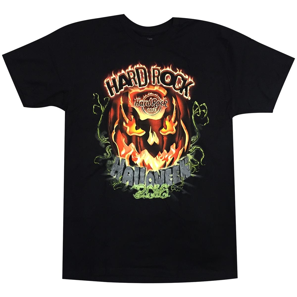 Design t shirt hard rock cafe - Mens 2016 Halloween Tee