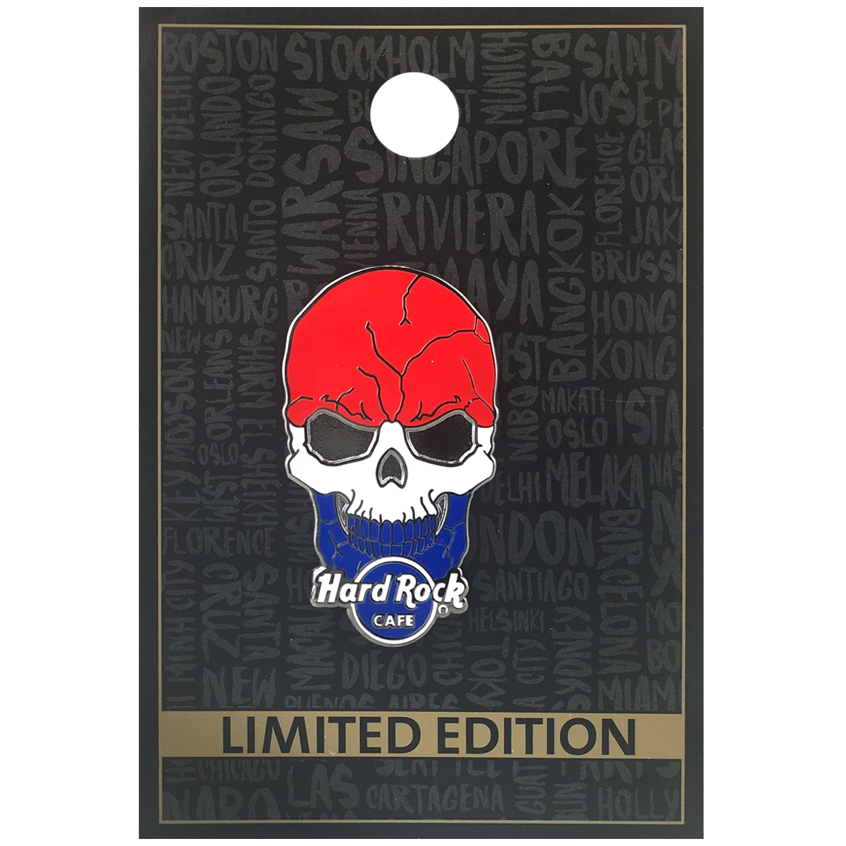Flag Skull Series Netherlands 0