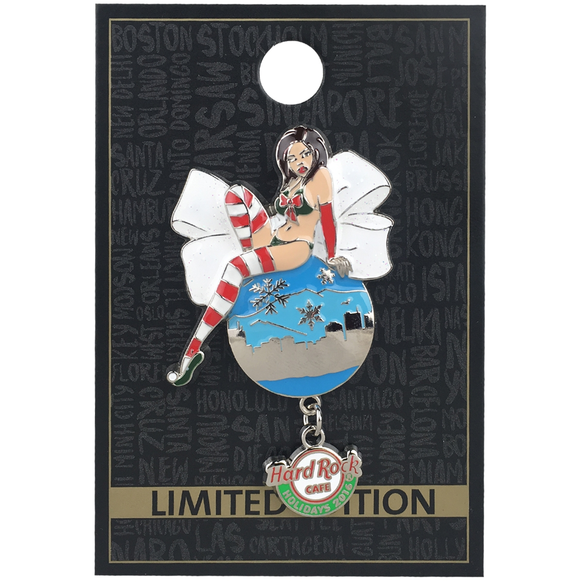 Holiday Girl Ornament Series 1 HRO 0