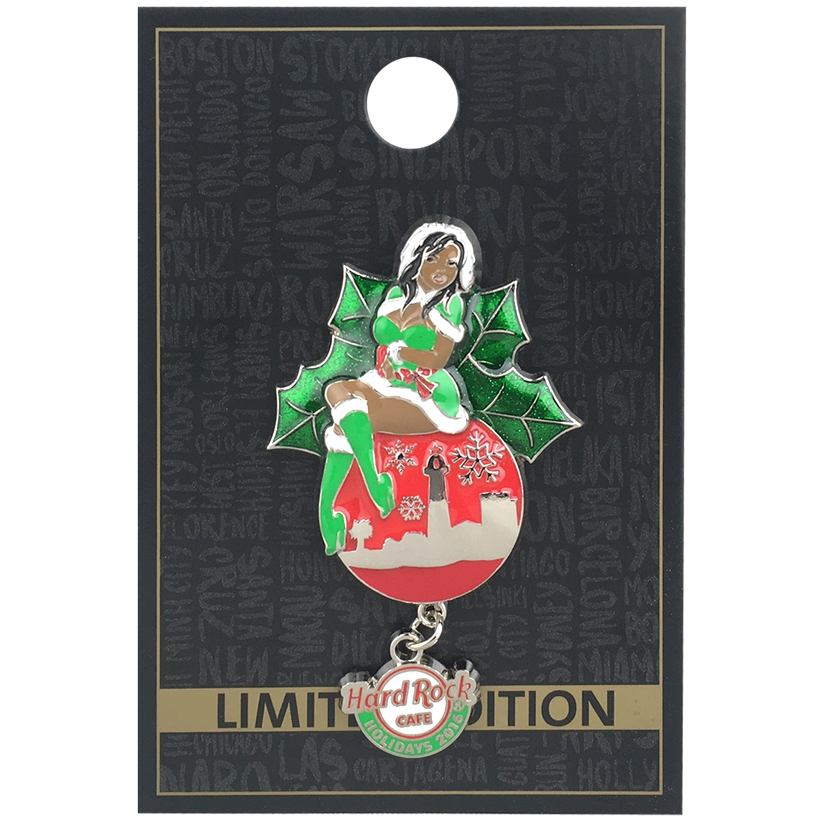 Holiday Girl Ornament Series 3 HRO 0