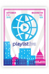2016 Playlist Live DC Poster