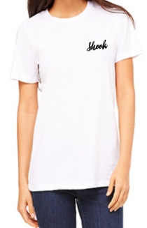 Shook Embroidered Tee