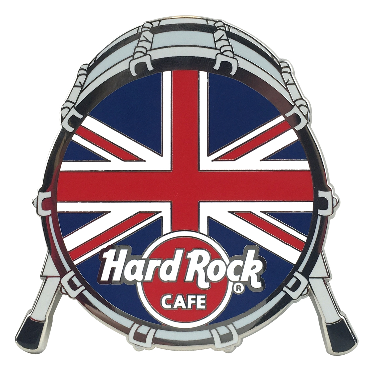 Drum Flag Magnet UK  0