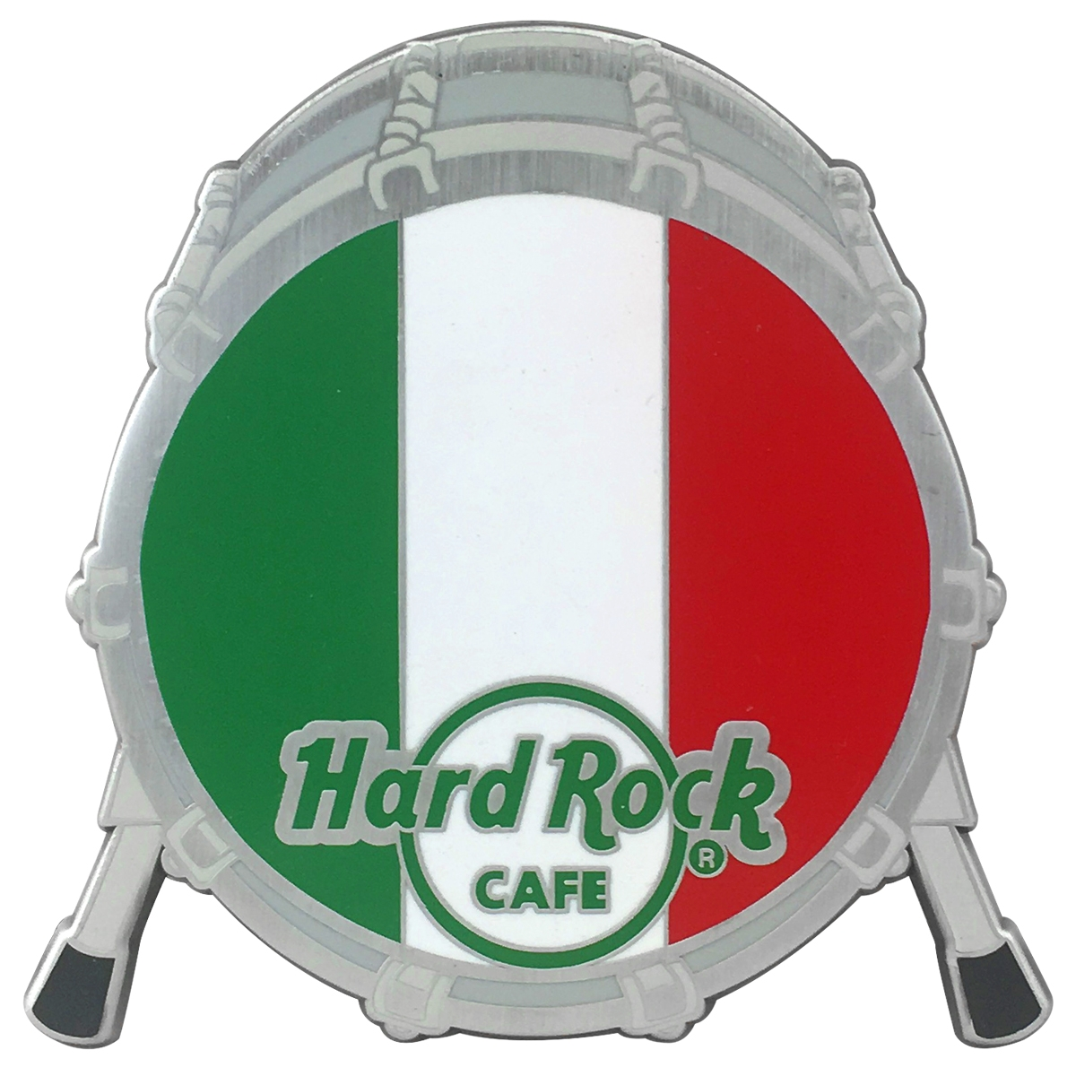 Drum Flag Magnet Italy 0