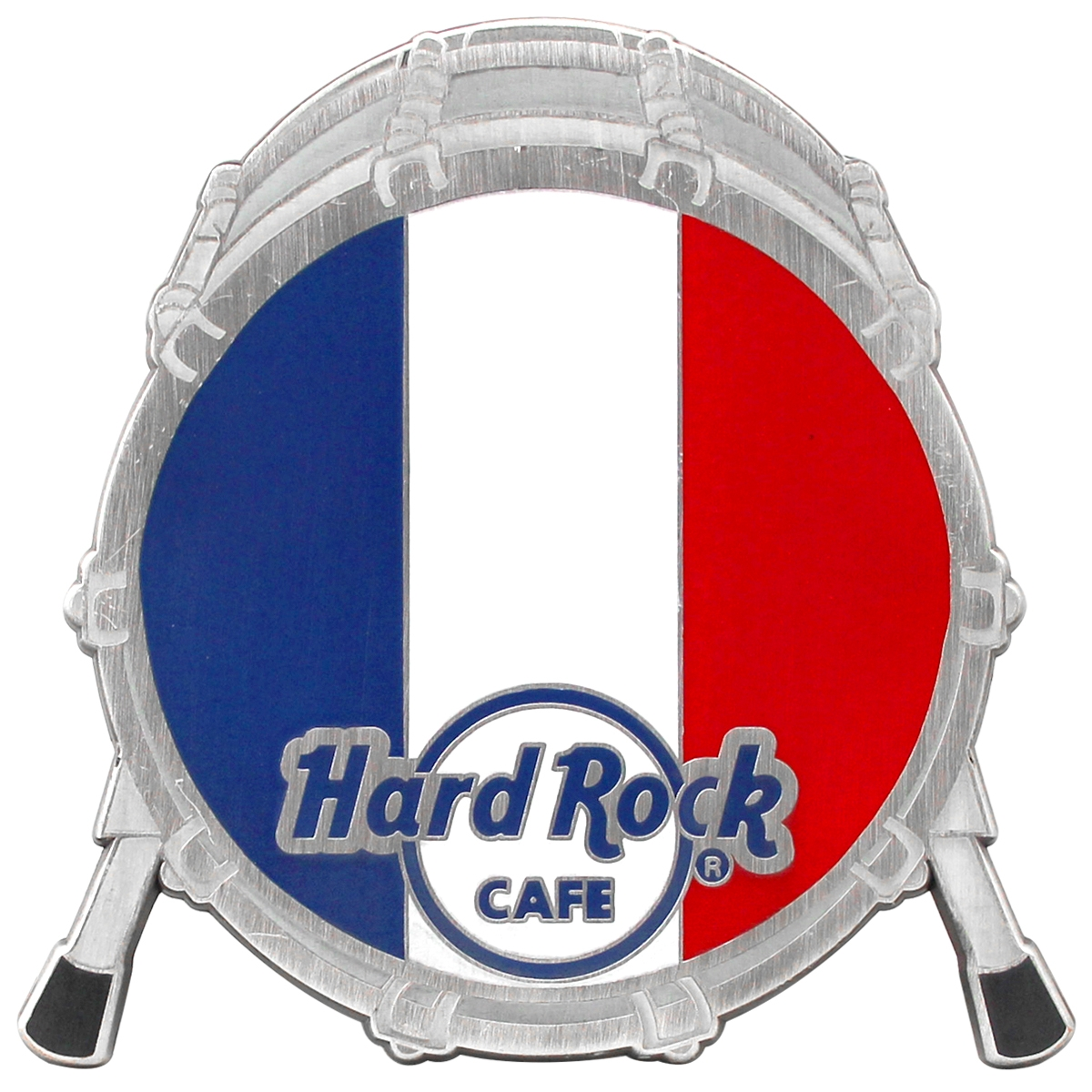 Drum Flag Magnet France  0
