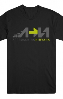 Approaching Nirvana Tee (Black)