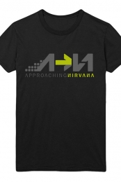 Approaching Nirvana Womens Tee (Black)