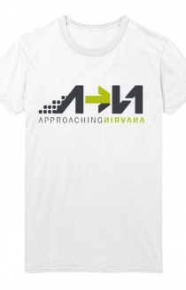 Approaching Nirvana Womens Tee (White)
